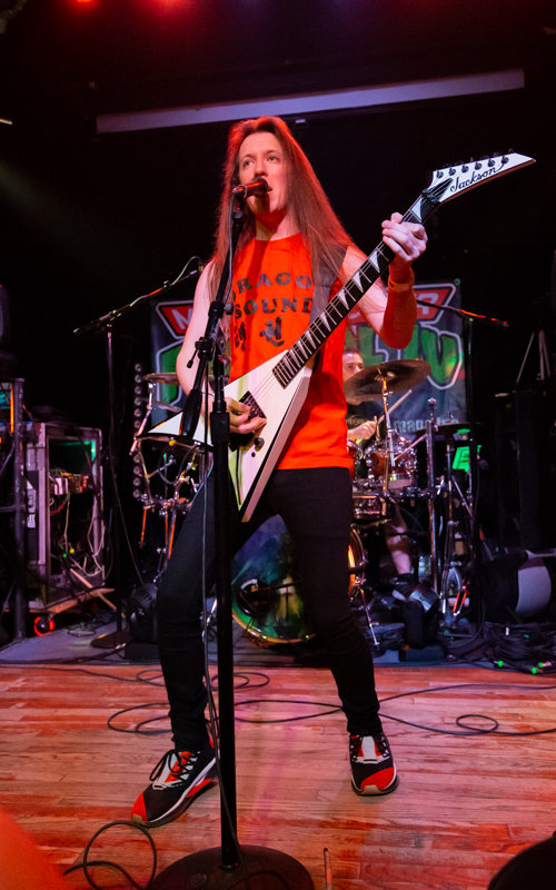 Paladin performing at Mad With Power IV in Madison, WI on August 28th, 2021. Photo Credit: © Dave Pearson 2021