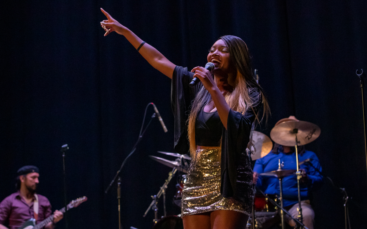 Chapel Hart performing at the Beacon Theater in Hopewell, VA on September 9th, 2021. Photo Credit: © Dave Pearson 2021