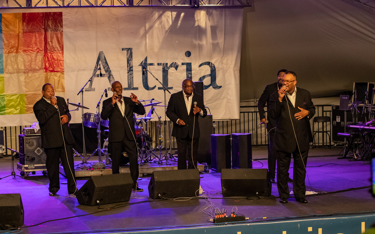 The Brotherhood Singers performing at Richmond Folk Festival on October 8th, 2021. Photo Credit: © Dave Pearson 2021