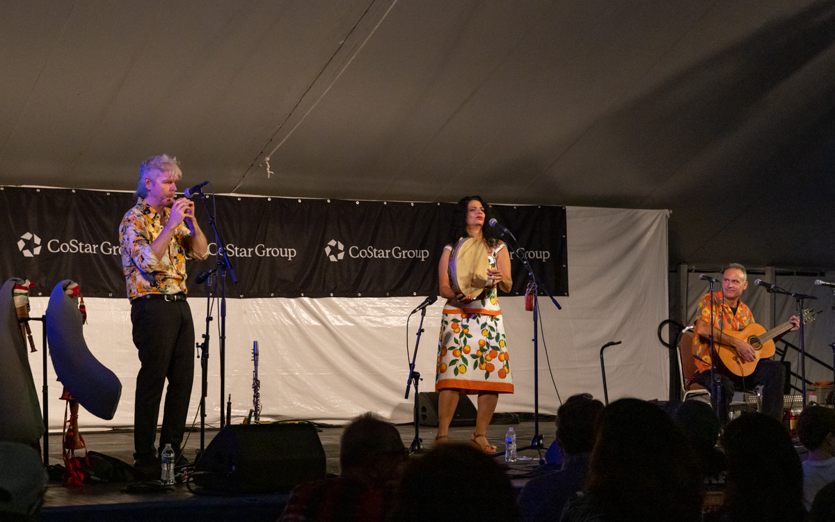 Rosa Tatuata performing at Richmond Folk Festival on October 8th, 2021. Photo Credit: © Dave Pearson 2021-006