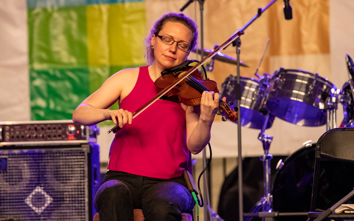 Joanie Madden & Cherish the Ladies performing at Richmond Folk Festival on October 8th, 2021. Photo Credit: © Dave Pearson 2021