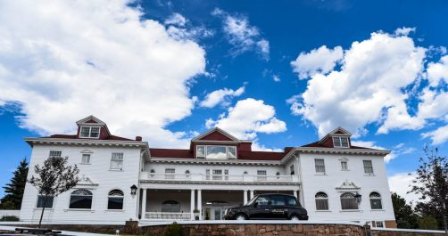 "The famous Stanley Hotel that inspired Stephen King's ""The Shining"" 
