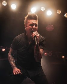Jacoby Shaddix of Papa Roach   Indianapolis, IN.   Photo by: ©Pix Meyers