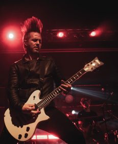 Jerry Horton of Papa Roach   Indianapolis, IN   Photo by: ©Pix Meyers