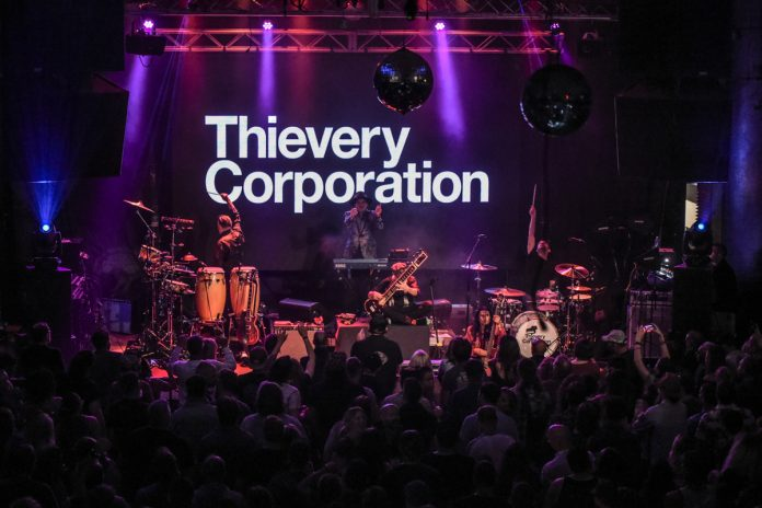 Thievery Corporation | The Vogue Theatre | Indianapolis, IN. | 09.29.21 | Photo by: ©Pix Meyers 2021
