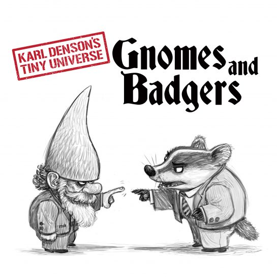 Cover Art: Gnomes and Badgers