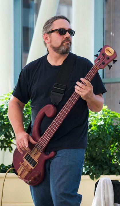 Ranch Wuertz, original bass player for 3:1 | Photo Credit: ©Pix Meyers